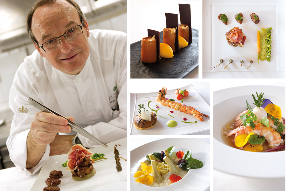 Michelin Star Chef Serge Gouloumes and his delectable creations at L'Oasis