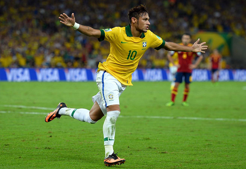 Will Brazil's Neymar deliver and bring glory to the host nation?