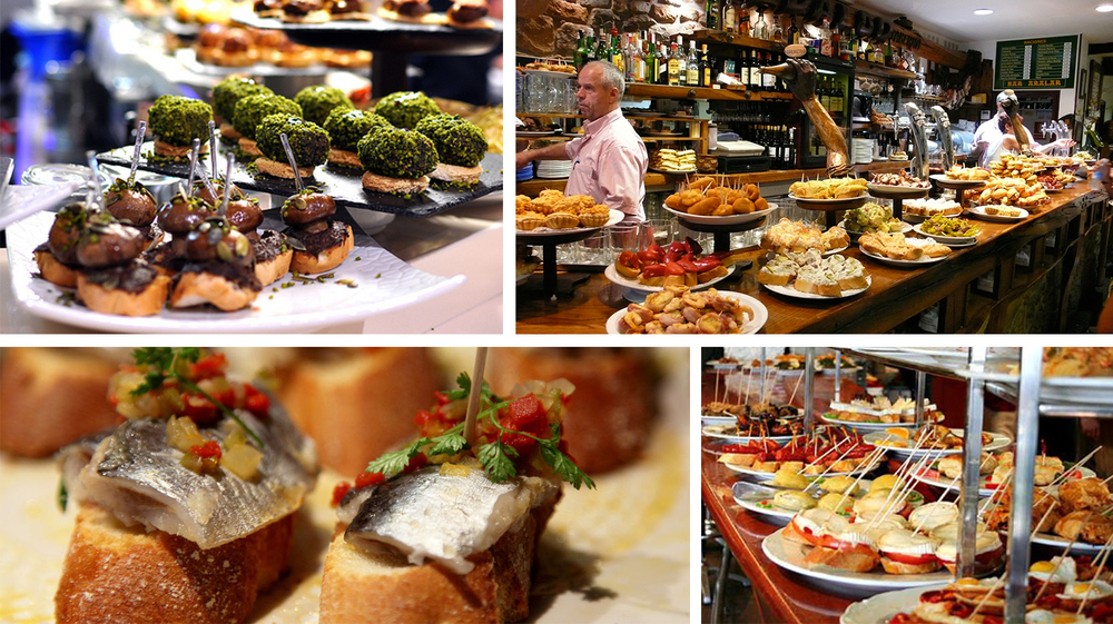 Universally recognized as a world-class eating destination, tapas crawl through the City's Old Quarter nearby.