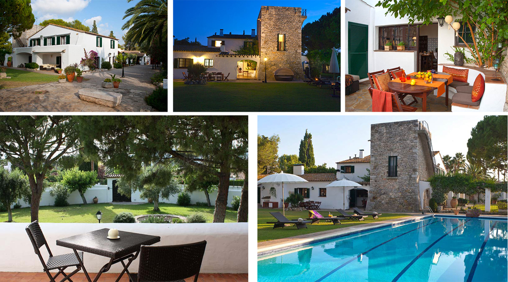 The sprawling historical manor in the high-end residential area Los Viñedos is a sanctuary for rest and relaxation.
