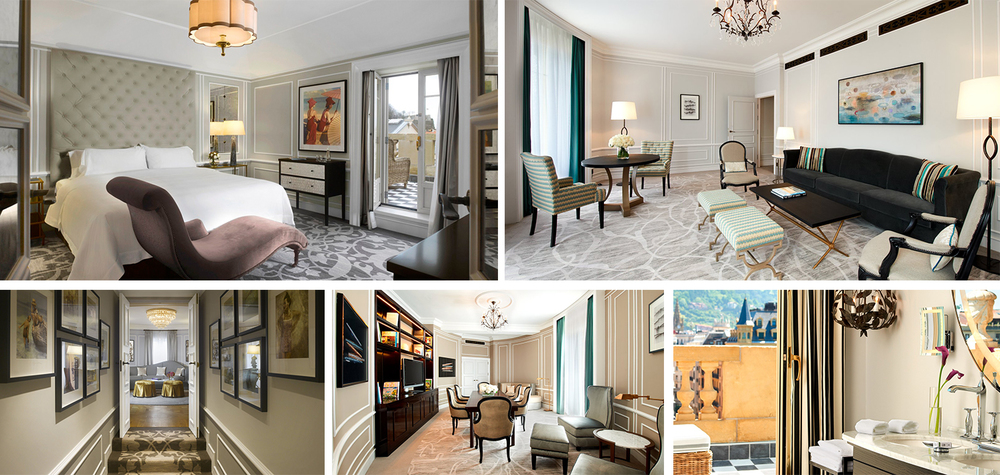 Every aspect of their rooms like the Royal Suite is lavishly designed