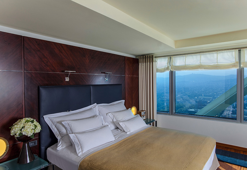 Each of the spacious bedrooms features a superbly comfortable king-size bed with luxurious linens,