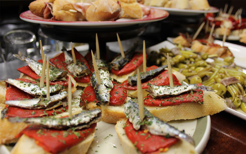 Can't visit Barcelona without sampling its world-class tapas