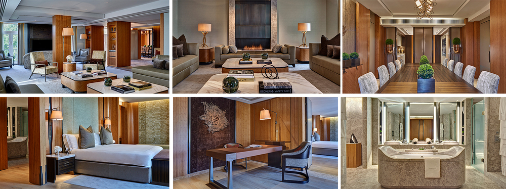 No expense was spared to make the Opus Suite the elite suite in London.