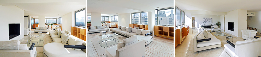 The huge 700 sq. ft living area is perfect for entertaining.