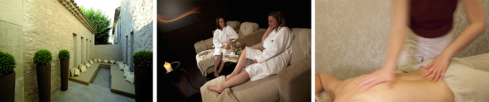 Take the time to really switch off and relax at the Royal Spa.
