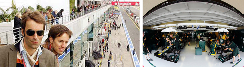 Join us for an exclusive tour of the Monaco Grand Prix Paddock and a F1 Team Garage.