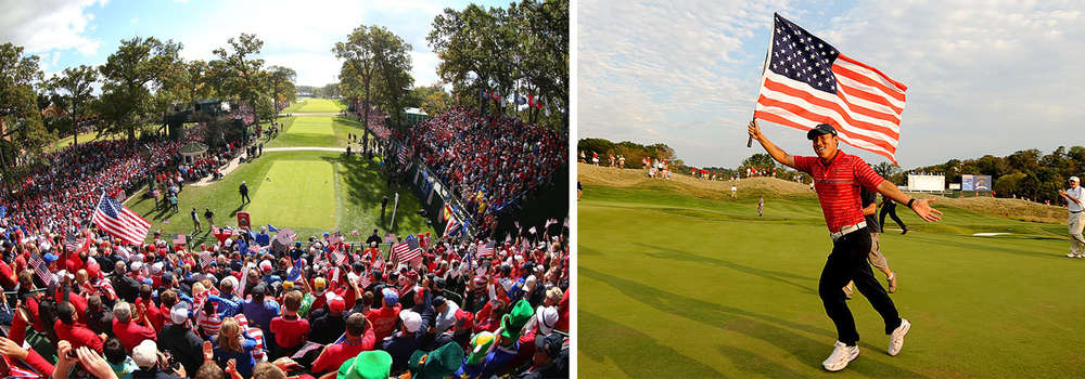 Few competitions can match the atmosphere and unbridled passion as the Ryder Cup