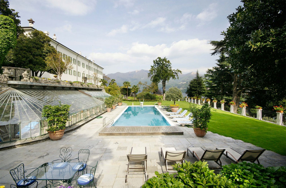 The Swimming Terrace is an idyllic area to relax and unwind during the hot summer