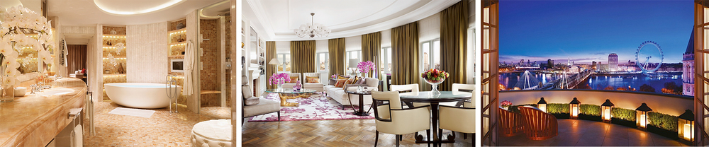 The 5000 sq. ft Royal Suite features plush interiors and 180-degree panoramic view of the city.