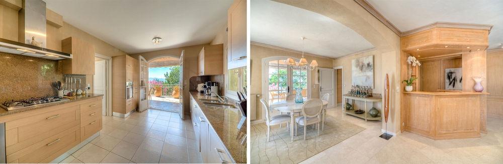 Enjoy the sprawling designer kitchen or have your personal chef prepare a gourmet meal for yourself and your loved ones.