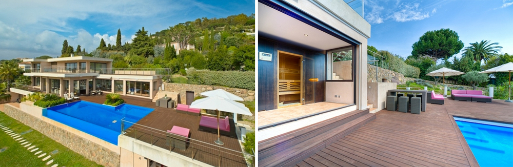 Located in the exclusive Croix des Gardes area the property offers excellent amenities and unparalleled comfort