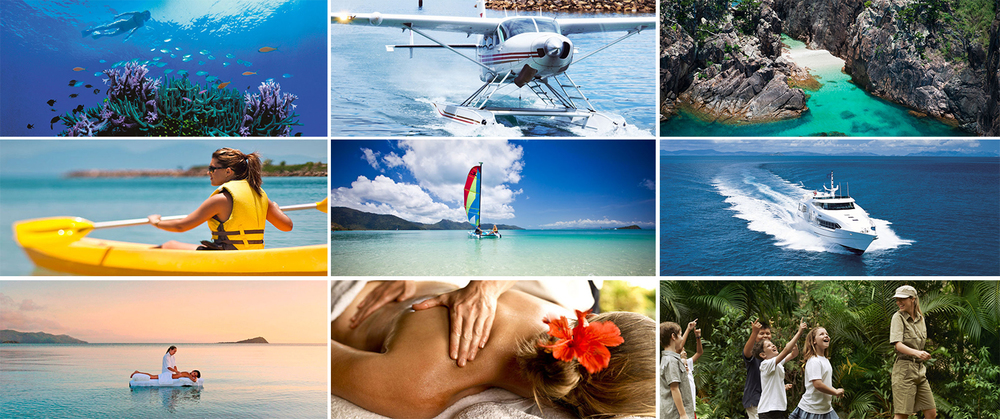 There are no shortage of activities on offer when you stay at the One&Only Hayman Island