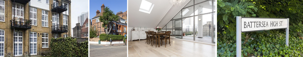 This luxury villa is located in the friendly, affluent and idyllic London village of Battersea