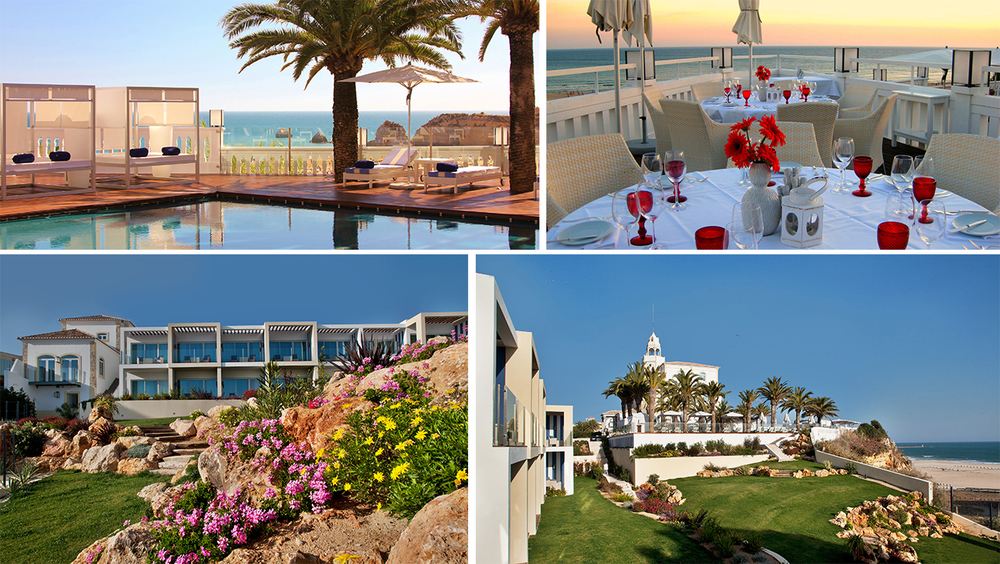 Located on the cliffs of Praia da Rocha, The Bela boast one of the best spots along The Algarve.