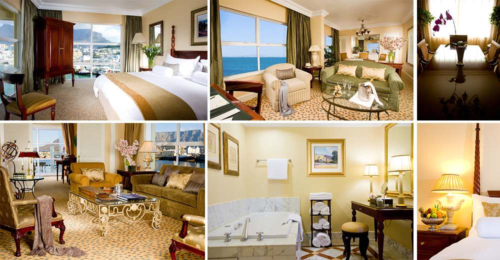 Table Bay Hotel's accommodation offers an olde worlde feel with all the modern and luxe fixings a guest could wish for.