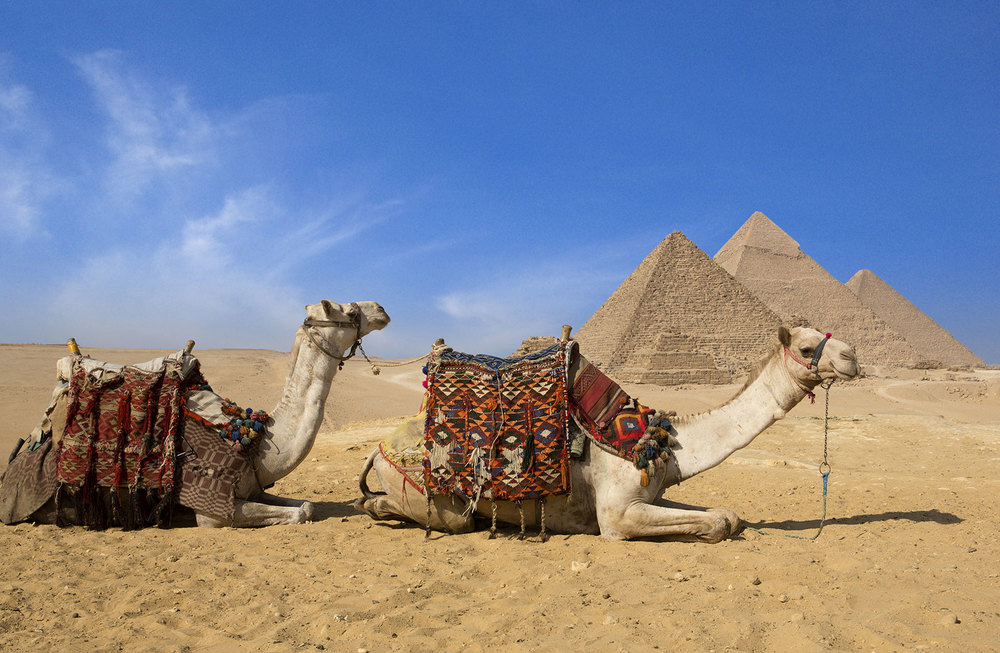 The Great Pyramids; Photo source: The Ritz Carlton