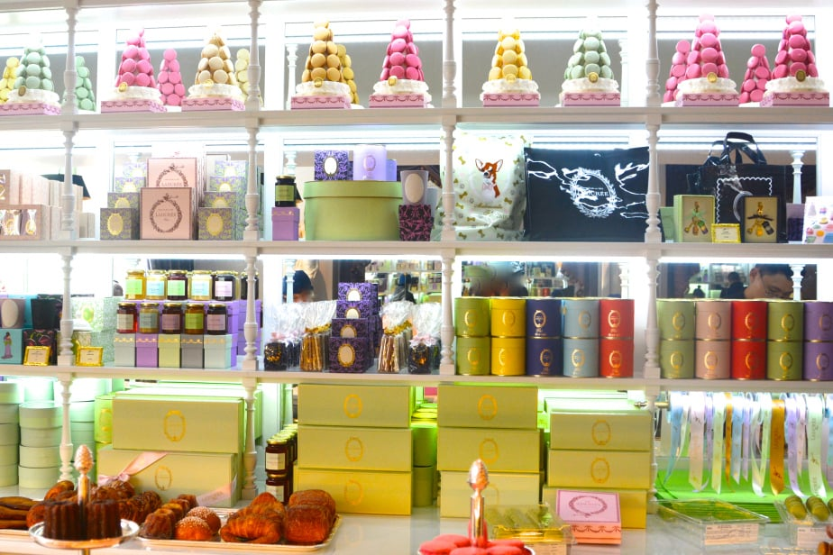 Ladurée SoHo store, photo by What We Like NYC