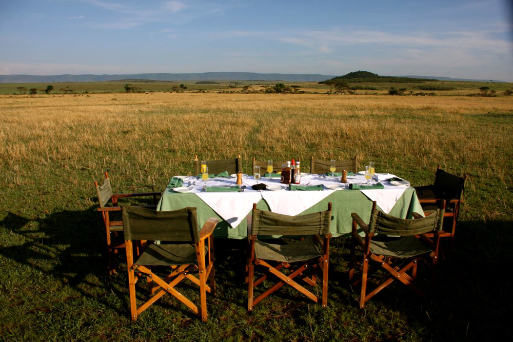 Picnic in kenya