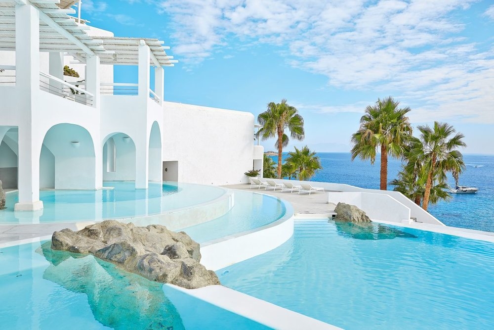 Mykonos Blu Grecotel Exclusive Resort, Mykonos, Greece